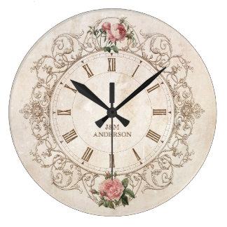 Relojes de pared barroco for Reloj de pared vintage 60cm