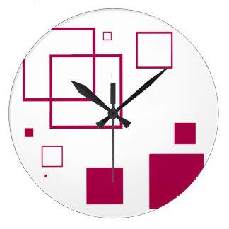 Reloj de pared (grande) redondo