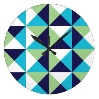 Reloj de pared (grande) redondo cuadrado del