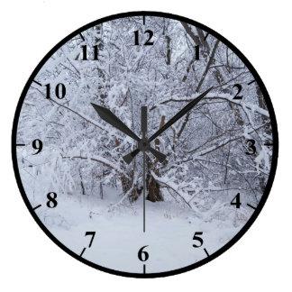 Relojes de pared paisajes - Reloj grande de pared ...