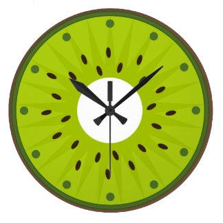 Reloj de pared kiwi