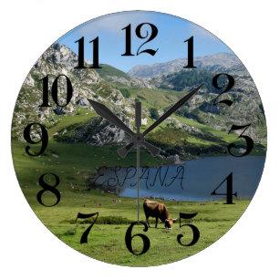 reloj de pared Lagos de Covadonga en Asturias