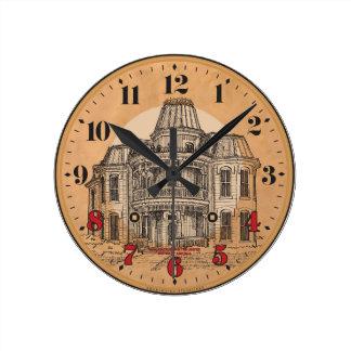 Reloj de pared: Mansión del Victorian