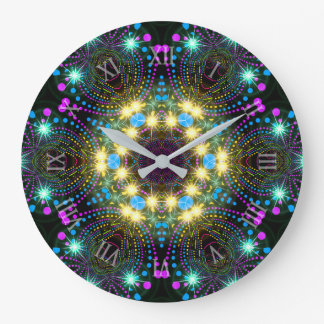 Reloj de pared maravilloso fresco de la chispa de