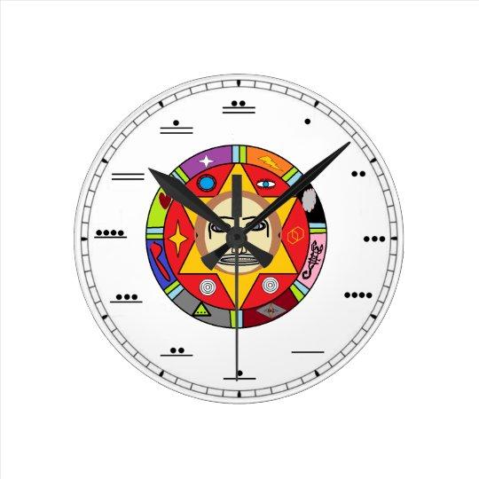 Del Reloj Pared De Número Maya QdeCxBorW