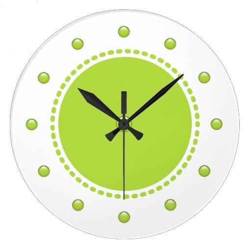 Reloj de pared moderno de la cocina zazzle - Relojes de pared diseno ...