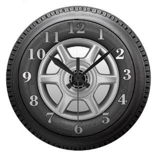Reloj de pared para hombre de la novedad del