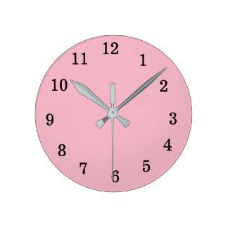 reloj de pared redondo