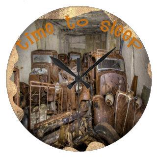 reloj de pared redondo del vintage