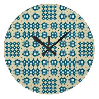 Reloj de pared redondo: Modelo de la tapicería Gal