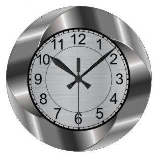 Reloj de pared redondo moderno
