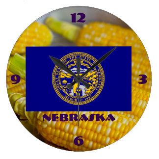 Reloj de pared sensiblero de Nebraska