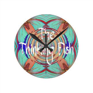Reloj de pensamiento de los pescados