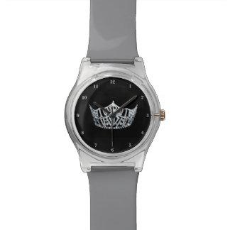 Reloj de plata de la Srta. América corona el 28 de
