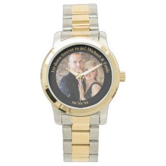 Reloj De Pulsera 1r Personalizado inusual único del aniversario de