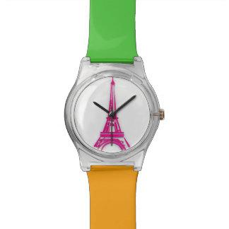 Reloj De Pulsera 3d torre Eiffel, clipart de Francia
