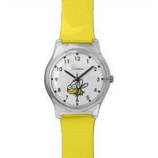 Reloj De Pulsera abeja del dibujo animado