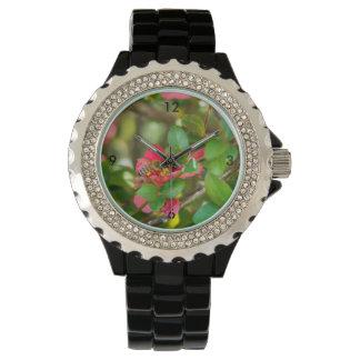 Reloj De Pulsera Abejorro y azalea