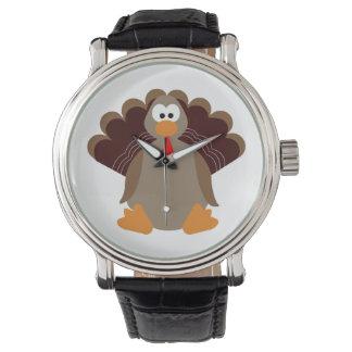 Reloj De Pulsera Acción de gracias linda Turquía