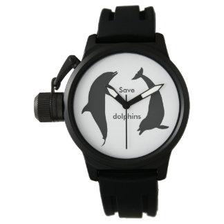 Reloj De Pulsera Ahorre los delfínes
