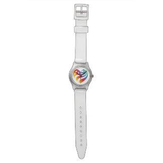 Reloj De Pulsera AmericanHeart - arco iris