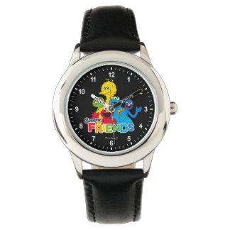 Reloj De Pulsera Amigos del sésamo del Sesame Street el |