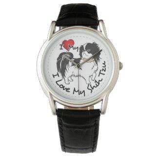 Reloj De Pulsera Amo mi perro de Shih Tzu