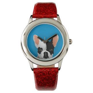 Reloj De Pulsera Arte del dogo - dogo francés