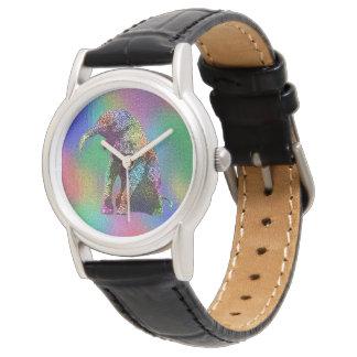 Reloj De Pulsera Arte pop del elefante del bebé, señoras