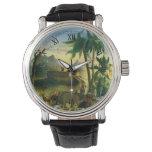 Reloj De Pulsera Arte popular del Victorian del vintage, la arca de