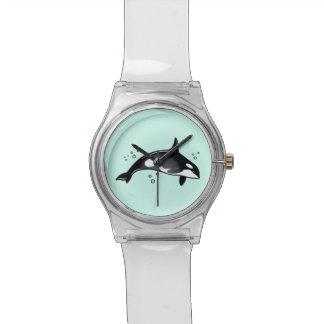 Reloj De Pulsera Ballena de la orca