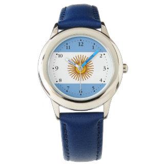 Reloj De Pulsera Bandera argentina patriótica