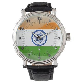 Reloj De Pulsera Bandera brillante india
