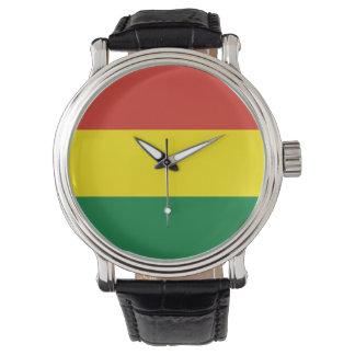 Reloj De Pulsera Bandera de Bolivia