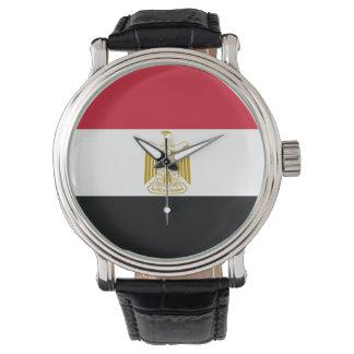 Reloj De Pulsera Bandera de Egipto