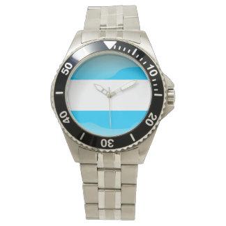 Reloj De Pulsera Bandera de la Argentina