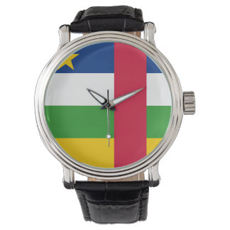 Reloj De Pulsera Bandera de la República Centroafricana