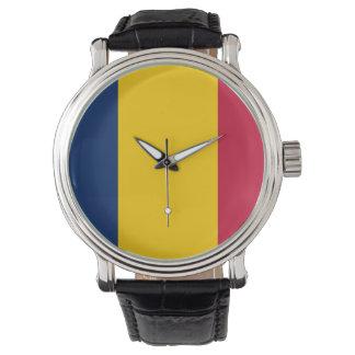 Reloj De Pulsera Bandera de República eo Tchad