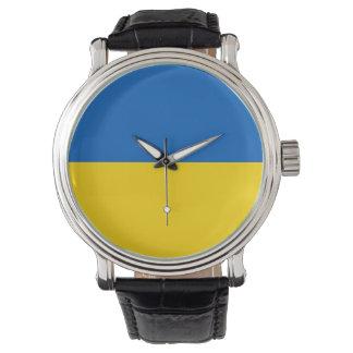 Reloj De Pulsera Bandera de Ucrania