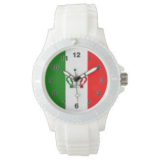 Reloj De Pulsera Bandera moderna del italiano de Italia de la