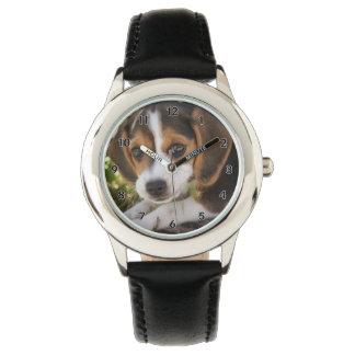 Reloj De Pulsera Beagle del perro de perrito