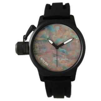 Reloj De Pulsera Bombo urbano de cobre quemado
