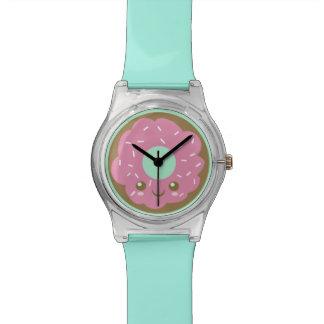 Reloj De Pulsera Buñuelo rosado lindo