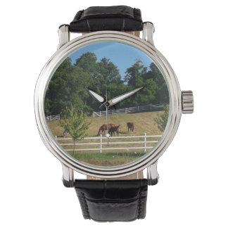 Reloj De Pulsera Caballos