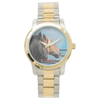 Reloj De Pulsera Caballos/Cabalos/Horses