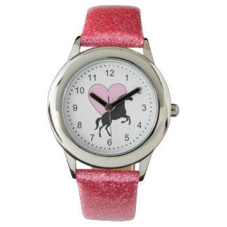 Reloj De Pulsera Caballos y amor