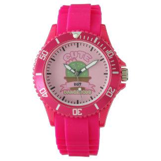 Reloj De Pulsera - Cactus de Kawaii - divertido lindo pero
