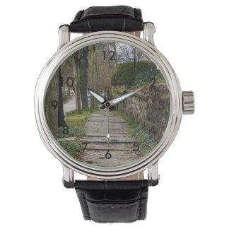 Reloj De Pulsera Camino desigual