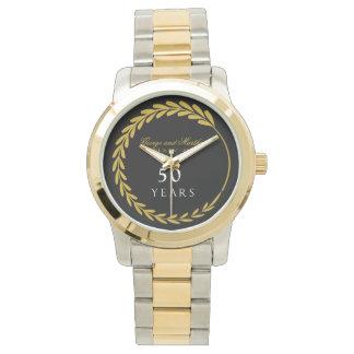 Reloj De Pulsera Celebración del 50.o aniversario. Adaptable