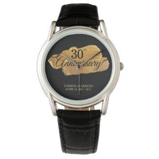 Reloj De Pulsera Celebración del trigésimo aniversario. Pintura del